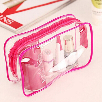 ec38f3b2147b Clear Plastic Soft Pvc Eva Material Mens Travel Cosmetic Toiletry ...
