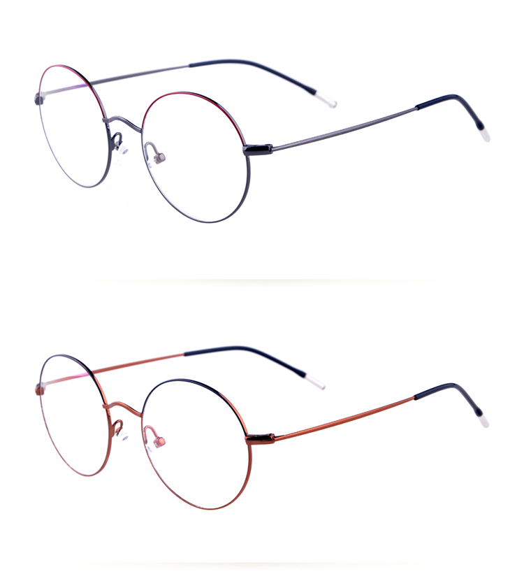 Top quality handmade Metal optical retro glasses