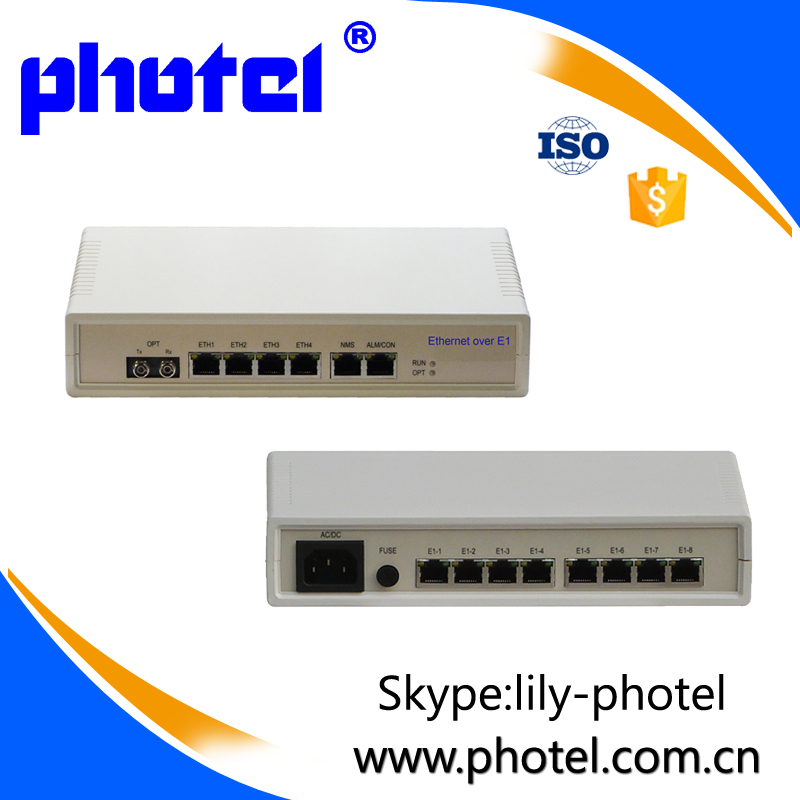 E1 to Ethernet Converter with SIP Protocol