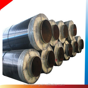Fiber glass wool steam insulation material finished flexible material steam insulation pipe