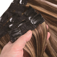 High quality remy human hair Direct factory remy hair colored Clip in hair extension