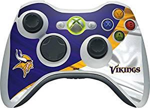 NFL Minnesota Vikings Xbox 360 Wireless Controller Skin - Minnesota Vikings Vinyl Decal Skin For Your Xbox 360 Wireless Controller