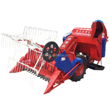 China manufacturer new small mini rice wheat combine harvester