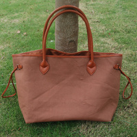 New Arrival Wholesale women Tote bag Faux PU Evening bag with PU Handle