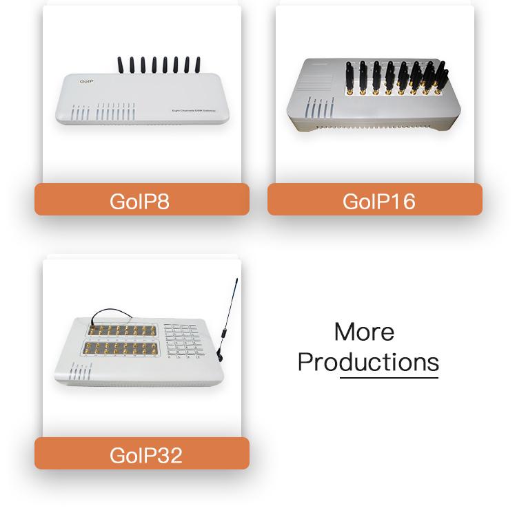 Gratis SMS Server VoIP GSM Gateway 32 Port Goip Gateway