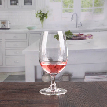 Thick Stem Wine Glass Cheap Goblet Handcrafted Crystal Wine Glasses