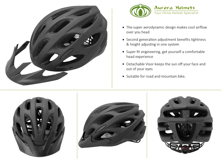 High Quality Bike Helmet With Visor 5