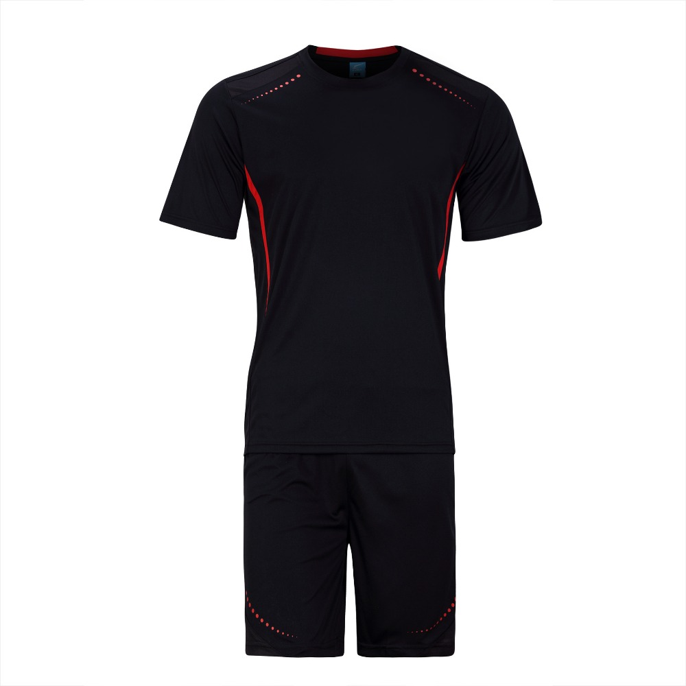 f0dc040343d ... 2016 New Arrival Men Soccer Jersey Set Blank Paintless Football Training  Suit Breathable Short Sleeve futbol ...
