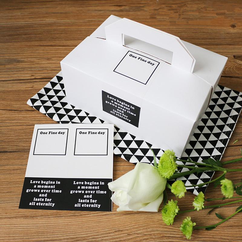 400 pcs ganda warna suatu hari hadiah seal label sticker untuk mendukung partai tas kue kotak