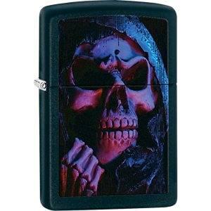 Zippo Grim Reaper Black Matte Lighter