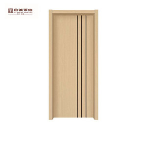 prettywood mdf flush metal interior pvc door sheet