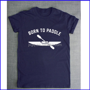 born to paddle custom your size malaysia clothing pima cotton t-shirts in peru