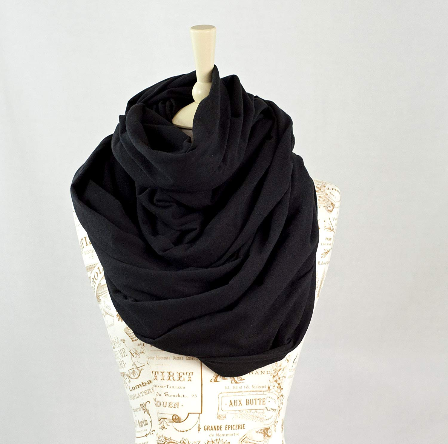 Discount Cheap Black Jersey Scarf, find Black Jersey Scarf deals on line at  for sale
