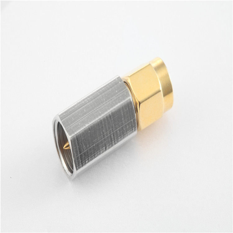 SMA to FME male to male coaxial connector rf adaptor