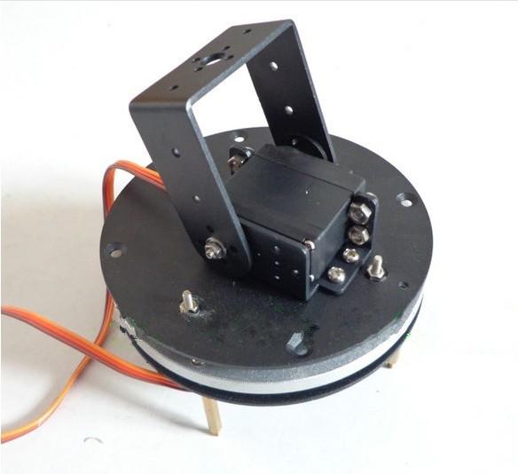 Buy 2-DOF robot servo head turntable turntable base + MG995