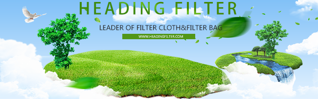 Heading Filter glass fiber woven air filter cloth with ptfe membrane
