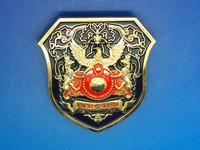 Promotion custom hard enamel lapel pin for souvenir