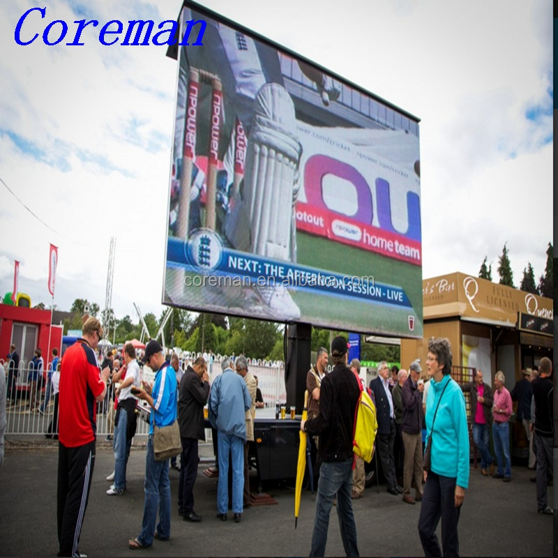 Coreman outdoor p3.91 p4.8 p5 rental led p3.91 rental indoor led cabinet RGB video wall smd waterproof