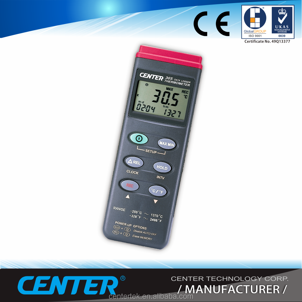 Industrial Temperature Data Logger with K type and USB interface