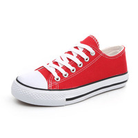 Top quality Women Canvas Sneaker with customer logo and brand