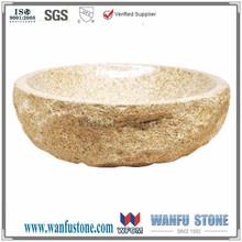 promozione antique rotonda pietra trough, shopping online per ... - Bagno Lavabo In Pietra Trogolo