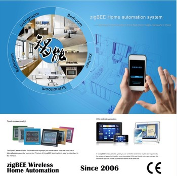 knx home domotics automation control system smart home switch zigbee gateway wireless zigbee. Black Bedroom Furniture Sets. Home Design Ideas