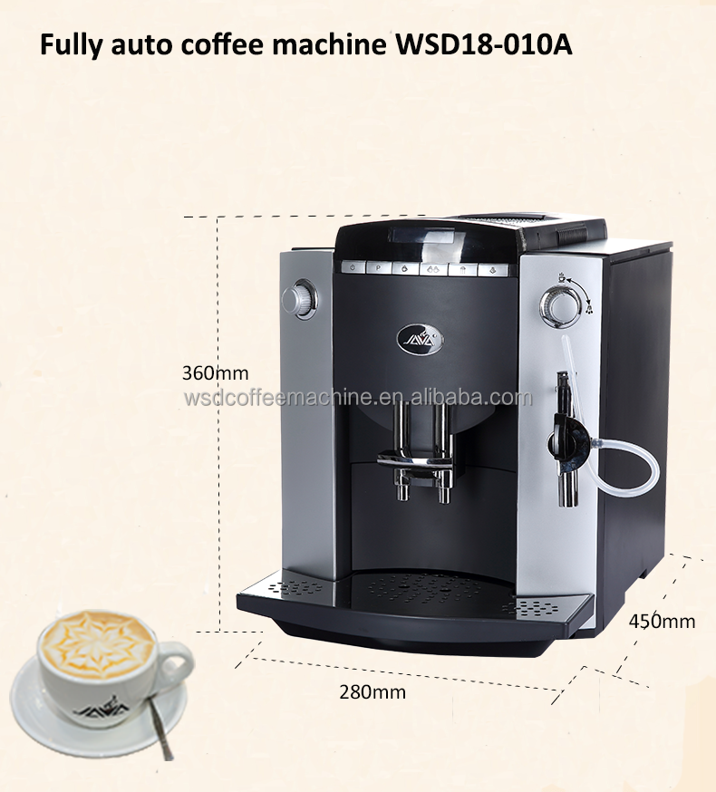 New JAVA WSD18-010A Automatic Espresso Coffee Machine