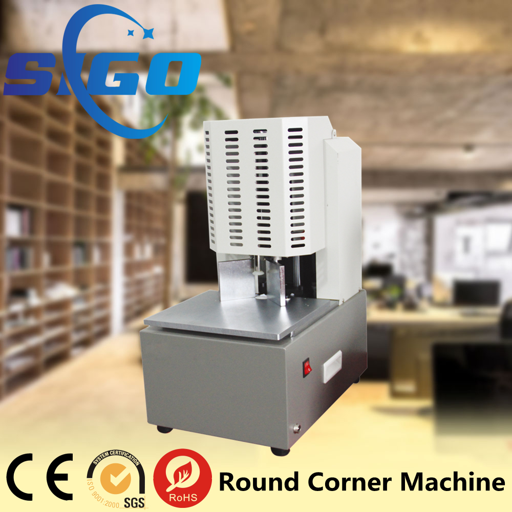 SG-08 Round Corner Paper Cutting Machine for albums, recipes, shadow volumes, trademarks, notebooks and other paper