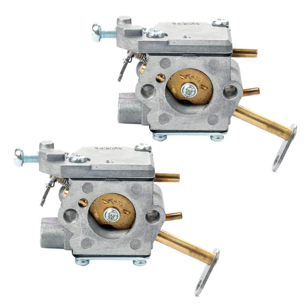 Buckbock (Pack of 2) 300981002 Carburetor For Homelite UT-10532 UT-10926 PS33 D3300 Ranger 20 23 B2216CC Ryobi RY74003D 33cc Chainsaw Replaces A09159 300939002 ZAMA C1Q-601 C1Q-H42