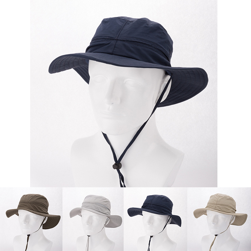 Get Quotations · Wholesale Mens Plain Bucket Hats with String For Men Blank Bucket  Hat Womens Outdoor Wide Brim 632e9510f1a