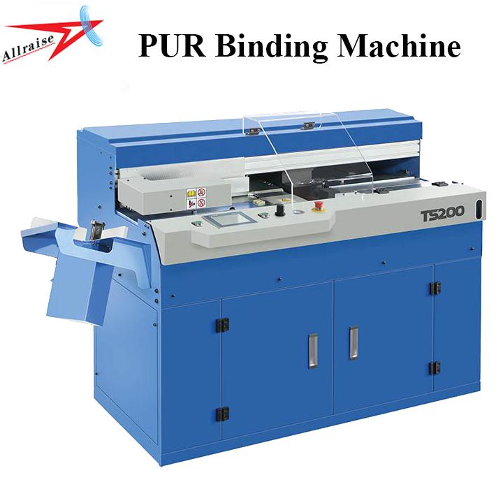 Allraise Glue Perfect Binder Pur Binding Machine For A3 A4