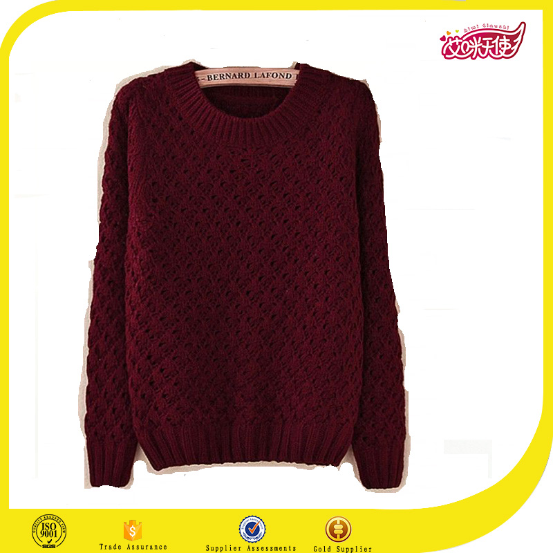 Red woolen sweater designs for ladies pullover sweater hand making designs cardigan sweater