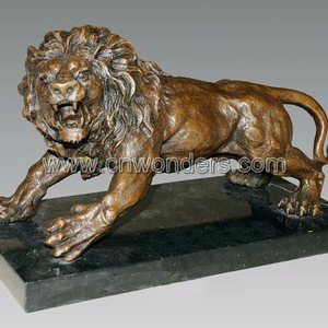 Best selling bronze lion sculpture