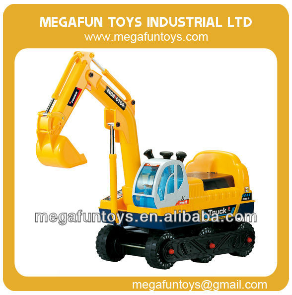 baby ride on toy car children electricity digging machine(with cap)