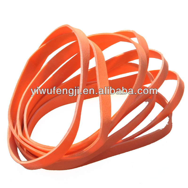 synthetic red rubber bands/synthetic rubber/RUBBER BAND DESIGN