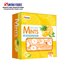 Ananas Flavour Single Pack Meer Salz Zucker Frei Mints Candy