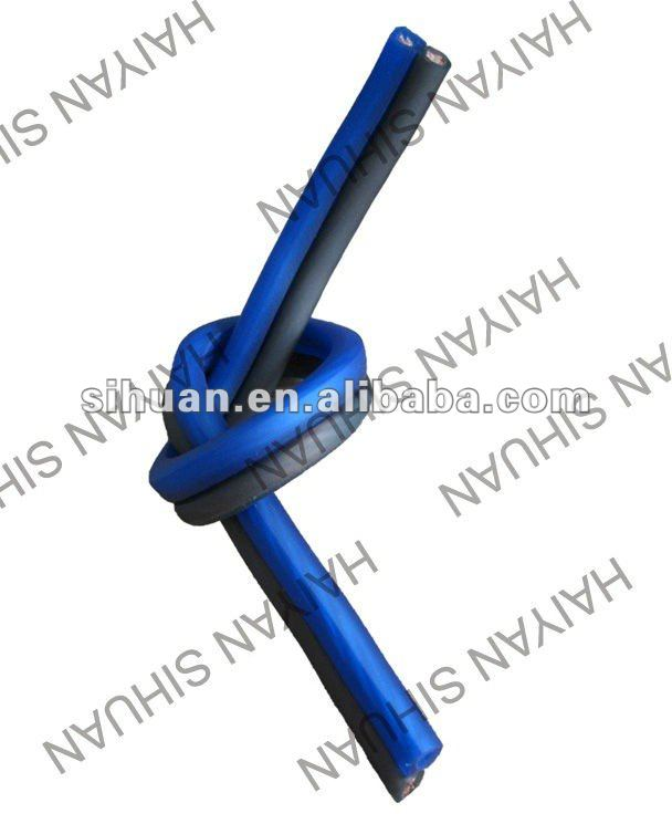 Blue and black OFC 10 GA / AWG Speaker wire / cable