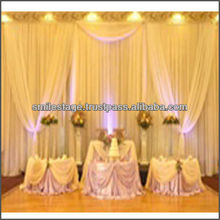 luxury curtain fabric for wedding event