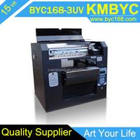 A3 digital inkjet universal printer for printing on metal/metal photo printer