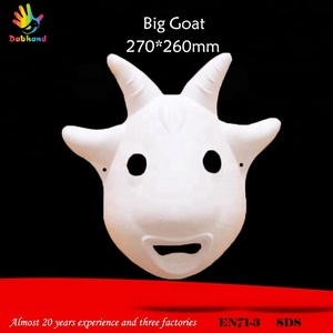 Festive party big goat style kids party masks