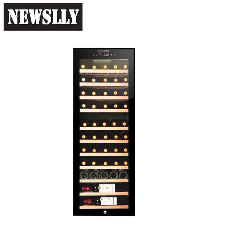 YC-72 directing cooling 120 bottles recirculating air compressor wine cooler wine refrigerator