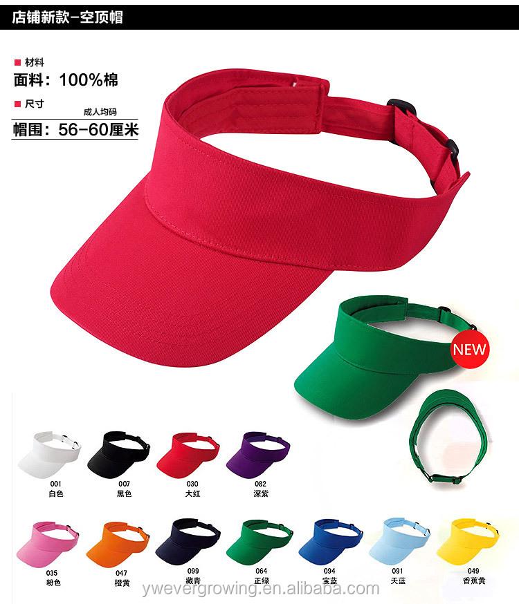 Personalizar la publicidad voluntarios barato visera sombreros para las  mujeres pico largo ajuste Correa viseras sombrero 5378f622aa9