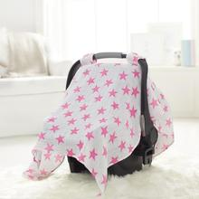 A78 Most Popular Baby Fashion stroller cover 3 in 1 pink lovely cotton baby girl carseat covers