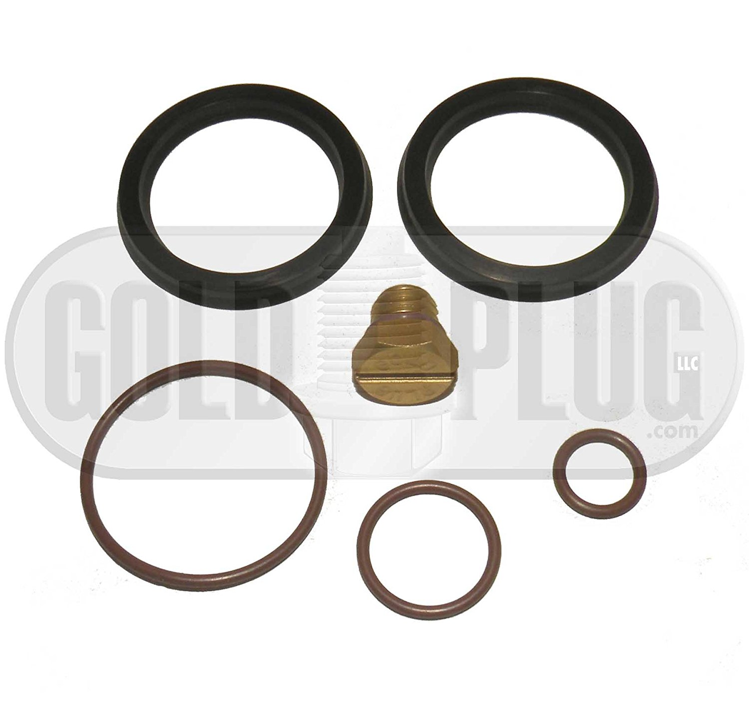 Get Quotations · Duramax Primer Fuel Filter Rebuild Seal Kit for 2001-2010  GM Duramax Includes Aluminum Bleeder