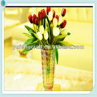 tall trumpet glass vases wholesale clear glass bud vases