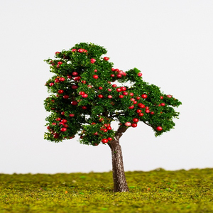 1:87 Realistic Plastic Artificial Scale Tree for Model Making