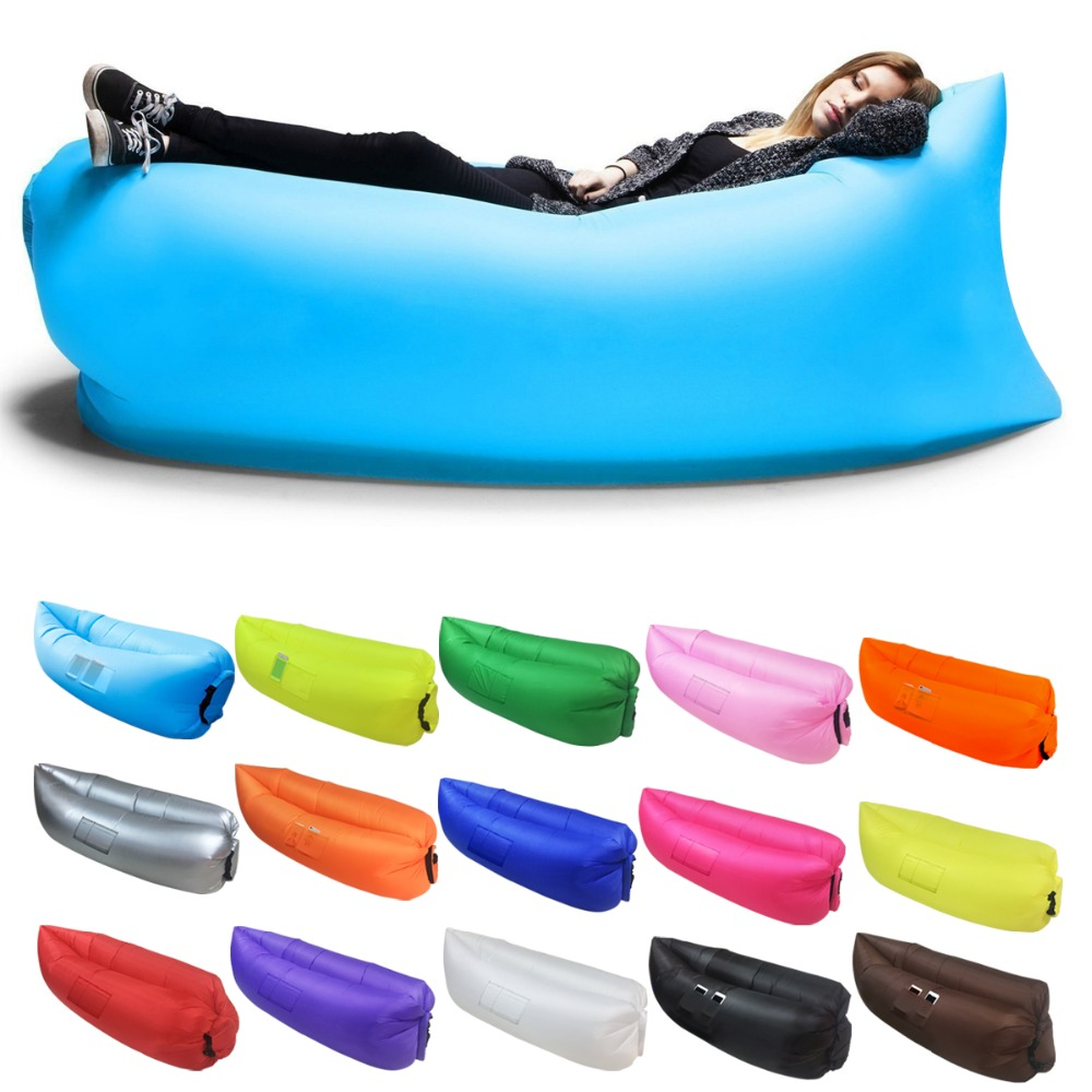 Terrific Fast Inflatable Lounger Camping Beach Hiking Sofa Banana Ncnpc Chair Design For Home Ncnpcorg