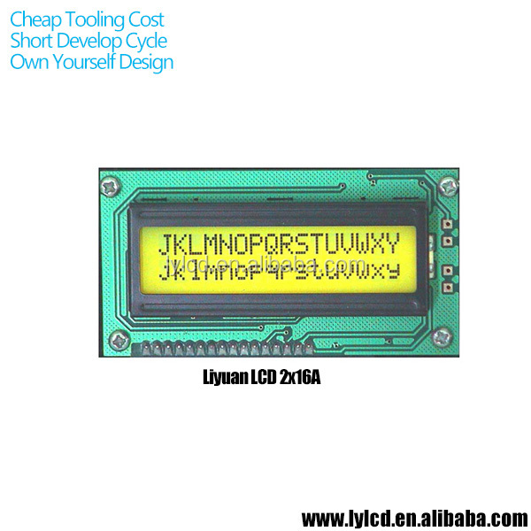 Cheap Character 16x2 lcd display for Electric Equipment View