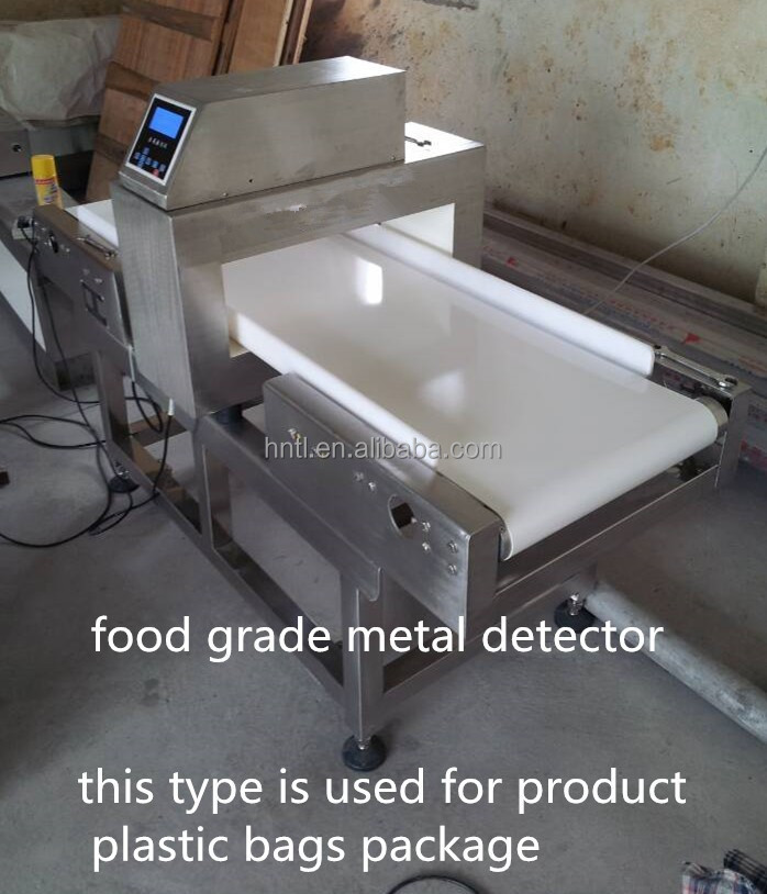 food grade belt conveyor metal detector for food industry