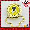 Wholesale promotional products round blank lapel pin badge